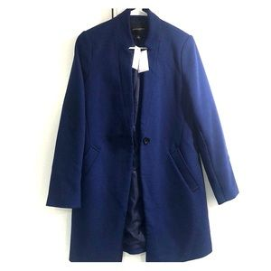 Banana republic blue Top Coat